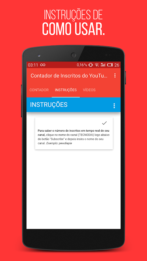 Contador de Inscritos- screenshot