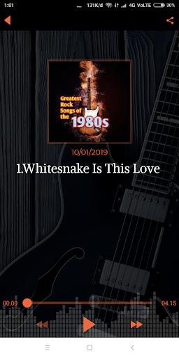 70s 80s 90s Rock Music Hits screenshot 4