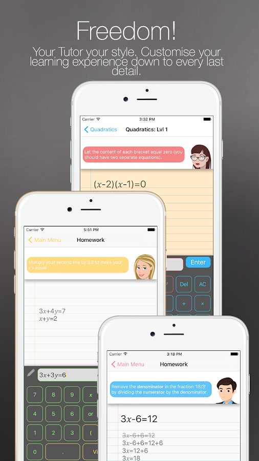 Litmus - Math Tutor- screenshot