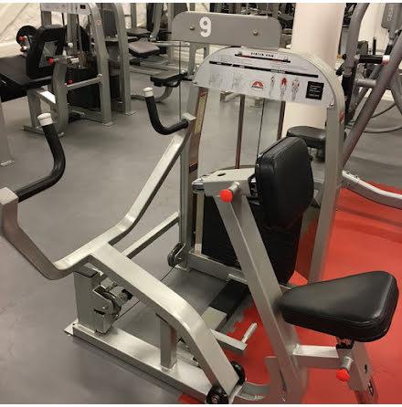 Seated Row Johnson, 135 kg