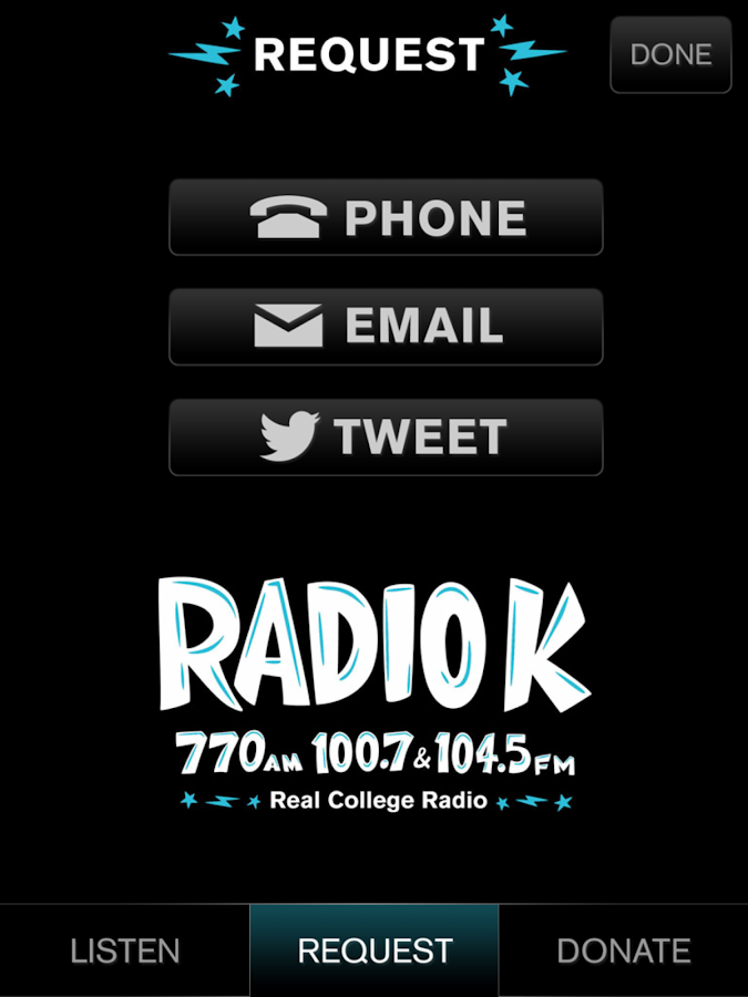 Radio K - KUOM- screenshot