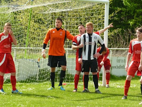 Photo: 19/04/14 v Langford (Spartan South Midlands League Division One) 6-0 - contributed by Bob Davies