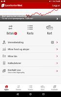 Screenshot of Sparebanken Vest