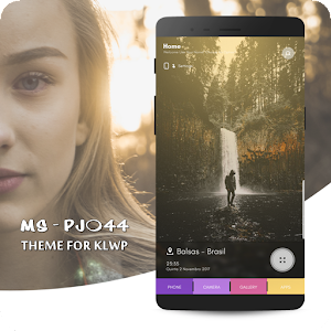 MS - PJ044 Theme for KLWP APK Cracked Download