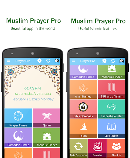 Muslim Prayer Pro with Azan, Quran & Qibla Compass screenshot 1