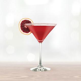 Cranberry Kiss Cocktail.