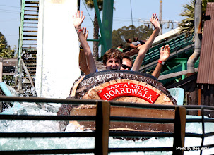 Photo: (Year 3) Day 25 - Rog and Edward on the Log Flume #6