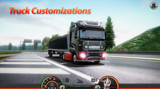 Truck Simulator : Europe 2 0.2 gameplay | by HackJr.Pw 5