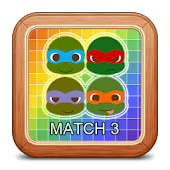 Match 3 Ninja Turtles Game
