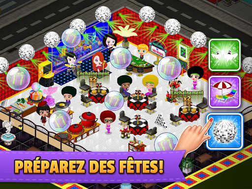 Télécharger Cafeland - Jeu de Restauration APK MOD (Astuce) screenshots 5