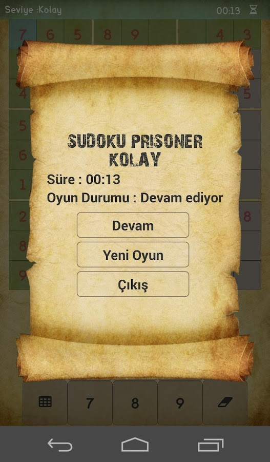 Sudoku Free Offline- screenshot