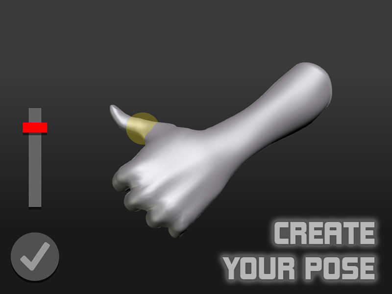 Hand Draw 3D Pose Tool FREE- screenshot