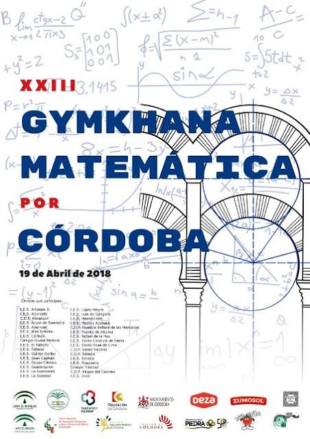 XXIII Gymkhana Matemática