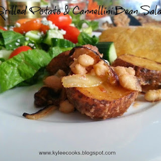 GRILLED POTATO & CANNELLINI BEAN SALAD