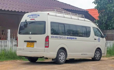 Travel from Krabi to Phuket Town by shared minivan