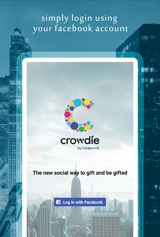 Crowdie - Social Gift Registry- screenshot