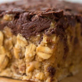 Healthy Chocolate Peanut Butter Cup Bars.