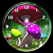 3D Mushroom Clock Live WP