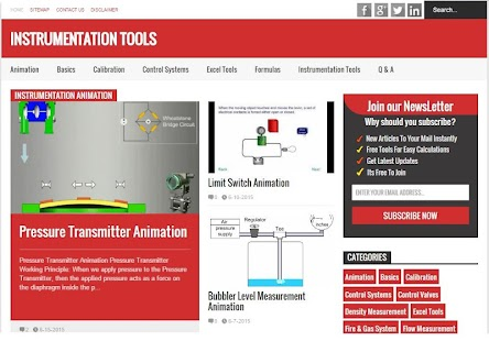 Instrumentation Tools screenshot