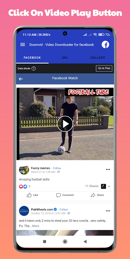 DownVid - Video Downloader for Facebook cheat hacks