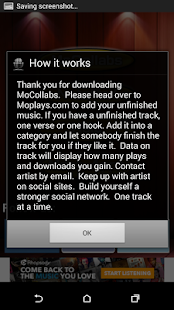 App MoCollabs Unfinished Music APK for Windows Phone
