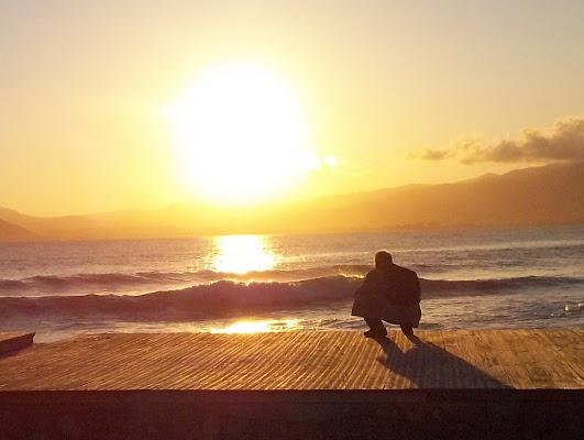 Osservando il tramonto... di LolleDimo