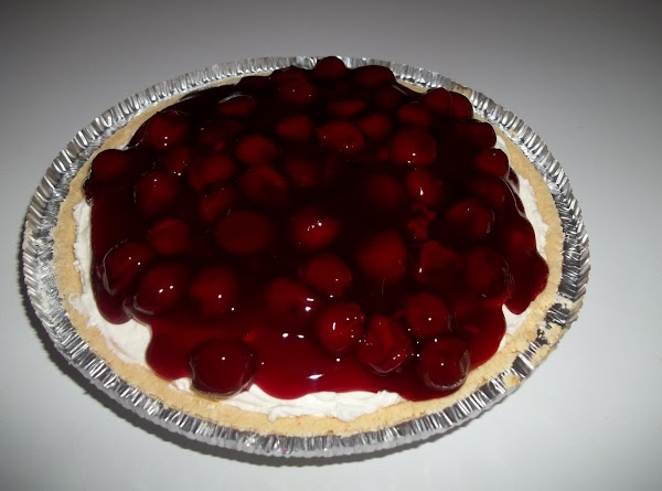 Top with pie filling. Refrigerate until serving.