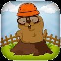 Whack a garden moles! icon