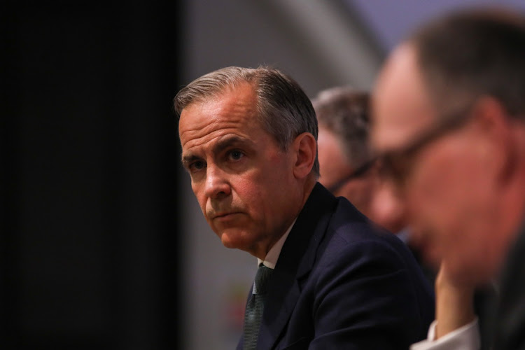 Bank of England's Mark Carney says investors too relaxed about pace