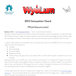 2013 WyoLum Innovation Grant Rules