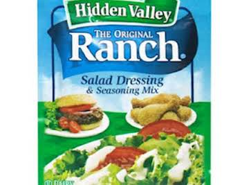 Homemade Ranch Dressing Recipe--Dry Mix