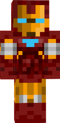With this mega iron man skin you can unwear the armor to see Tony Stark !