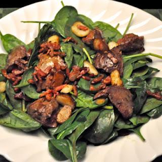 Rumaki Spinach Salad