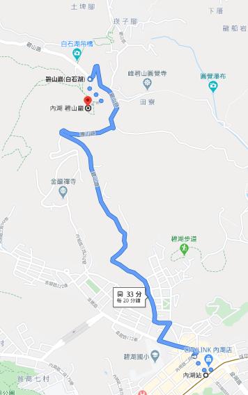 碧山巖開漳聖王廟路線