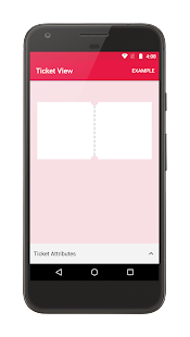 Ticket View Sample - náhled