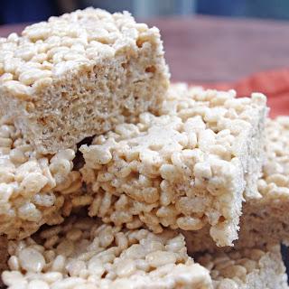 Maple Brown Butter Crispy Treats