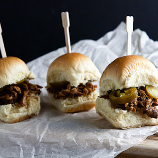 Asian Pulled Chicken Sliders