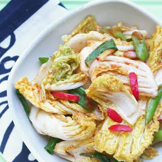 Low Carb Korean Kimchi Salad.