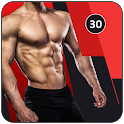30 Days ABS Home Workout No Equipments icon