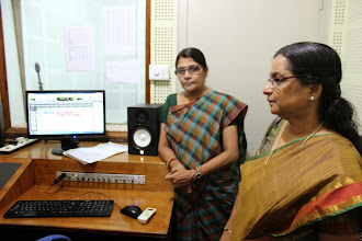 Photo: Dr K. Asha (Deputy Director, ATMA) Ms Shreelatha (Project Director, ATMA) at Radio Mattoli