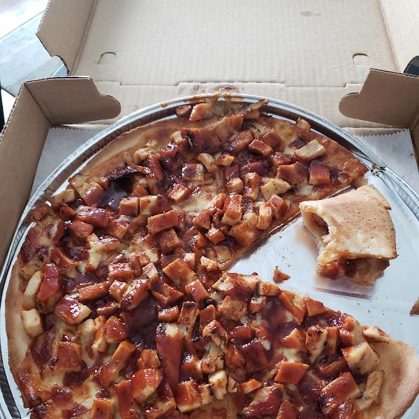 GF BBQ pizza 12 inch