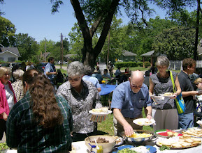 """Photo: """"Feed the People"""" lunch, 4/25/10"""