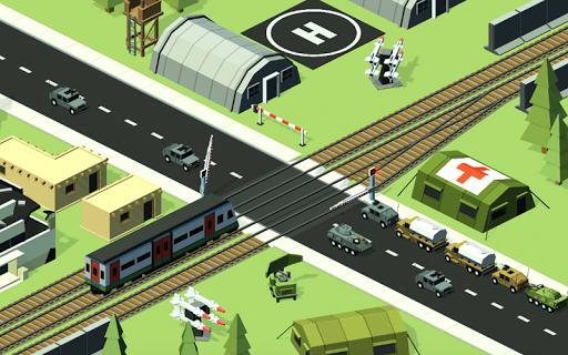 Railroad crossing mania - Ultimate train simulator apktreat screenshots 2