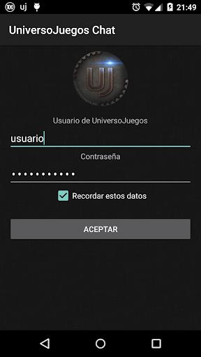 UniversoJuegos Chat