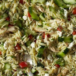 Lemon Chicken & Orzo Salad Recipe