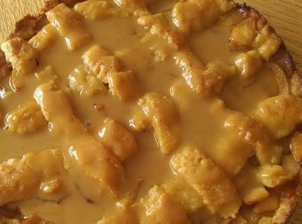 Apple Crostata With Spiced Caramel Sauce Recipe
