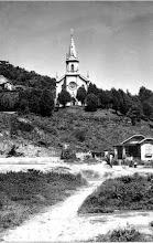 Photo: Igreja de Santo Antonio, no Alto da Serra. Foto do início do século XX