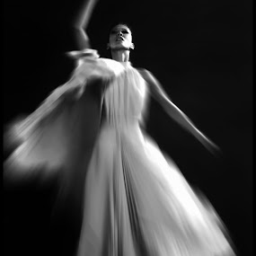 Performances by Fernand De Canne - Black & White Portraits & People ( b&w  peole, people, dance )