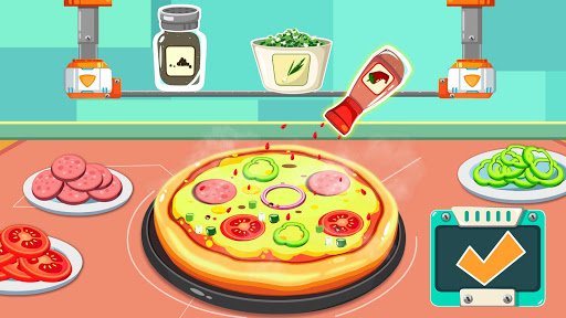 Little Pandau2019s Space Kitchen - Kids Cooking  screenshots 16