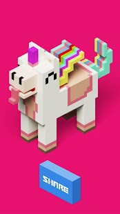Color by Number 3D, Voxly - Unicorn Pixel Art - náhled